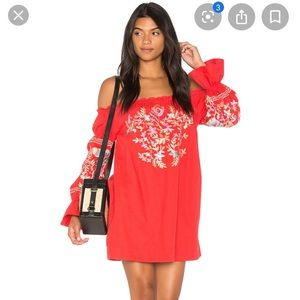 Free People Fleur Du Jour Minj Dress